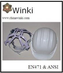 EN397 Certificate HDPE Material Construction Work Safety Helmet