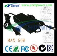 power adapter 5000mA 12V 5A 60W