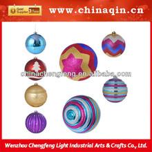 2014 New Products paint Christmas Plastic ball,New Christmas ball