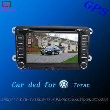 2 din 8 inch touch screen radio navigation VW touran wince car dvd
