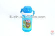 plastic student children kid water bottle