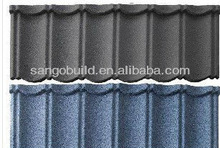 Colored Sand coated metal tiles
