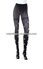 Promotional tight Foreign Trade Original Single Fashion stocking Slimming With White Dot As Winter Legging Woman pantyhose