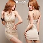 tight fit stretch sleeveless fashion lady sexy mini club wear night wear