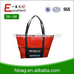 cheap promotional non woven shopping bag
