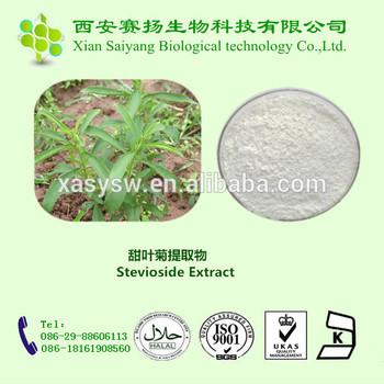 Stevia/Steviol Glycosides/Rebaudioside A 98%