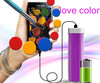 factory price lipstick powerbank 2600mah for iphone 5,5s samsung s3 nokia
