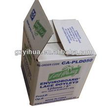 Custom made carton paper box printed