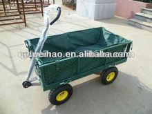 300kg Garden 4-Wheel Mesh Side Cart Farm Barrow Wagon