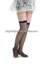 Summer Wholesale Korean Fashion Sexy Elegant Thin Anti-slip Soft Sheer Fishnet Formal Workplace Woman Socksfashion sexy ladies p