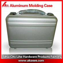 Rolling Cosmetic Makeup Case 2 IN 1 Make Up Artist Case Aluminum Construction BK