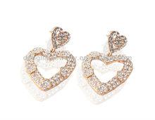 korea classic earrings heart fashion earrings