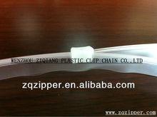 Clear Reclosable PE/PP Plastic Zipper For Bags