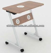 Multimedia laptop table,mutifunctional furniture table,furniture table with speaker,with bluetooth speaker