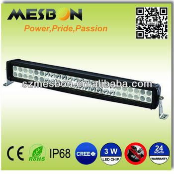 20inch 144W dual row led off road light bar vehicle