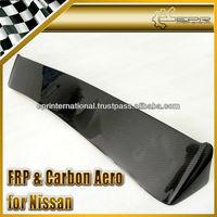 For Nissan Skyline R32 GTS GTR D-Max Carbon Fiber Rear Roof Spoiler Wing