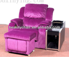 2014 China Factory Price rattan chair,cane chair sofa for pedicure massage chair spa
