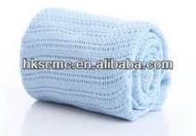 100% Cotton Children Thermal Cellular Blanket
