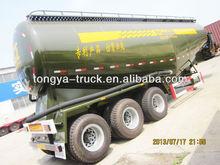 Cement Tanker Manufacturer Tongya 3 axles bulk cement tanker (tanker semi trailer)