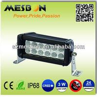 6inch 36W led off road light bar4x4 light Vibration