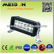 6inch 36W off road led light bar 4x4 light bar rear light