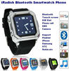 2014 Bluetooth smart watch phone for iphone samsung Andriod Sync 1 sim 2 standby