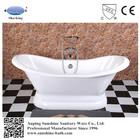 Hot enamel double slipper bathtub , Chinese antique tub