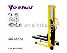 CE manual hand pump hydraulic stacker VH-MS-100/16