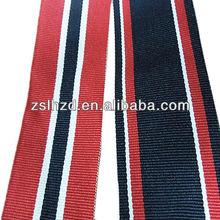 Stripe polyester cotton webbing for belt