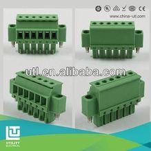UTL Electrical PCB 3 pole falt screw connector