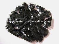 Wholesale Black Obsidian Arrowheads