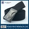 aço preto fivela classic castidade wearable correias do webbing