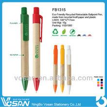 Recycled Retractable Ballpoint Pen