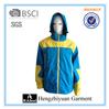 hooded skiwear mens nylon windbreaker jackets