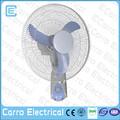 venda quente 16 polegadas 12v ventilador da cc solar decorativa ventiladores de parede