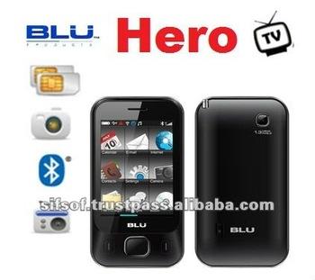 Blu hero dual sim smartphone 2 8 touch screen black