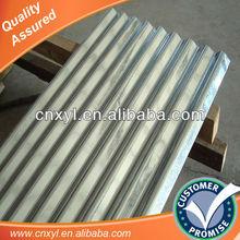 zinc coated roofing metal