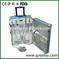 mini compressor de ar dentro da unidade dental portátil venda quente