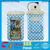 Pvc earphone waterproof cell phone bag for samsung