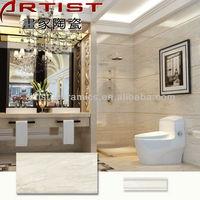 v1 [Artist Ceramics] 3d china ceramic wall tile and floor border deco 300x450 300x600 240x660 400x800 ABL84017AE
