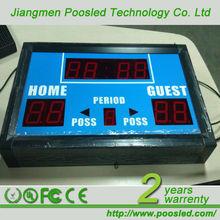 basketball digital scoreboard \ basketball electronic scoreboard \ basketball led scoreboard