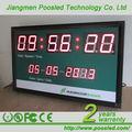 Temporizador de contagem regressiva exposição do signage \ férias relógio de contagem regressiva \ parede digital relógio de contagem regressiva