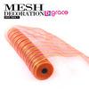 light pink 21 inch plastic net wrap for flower