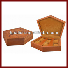 Unique Shape Fashion Packing wooden Box/ Wooden Watch Box
