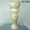 pulgadas 41 columna romana decoración olla conjunto