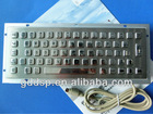 Industrial Waterproof Metal Keyboard Case