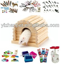 2014 new China wholesale pet products custom luxury wooden hamster cage for sale