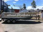 19ft Aluminium fishing boat console