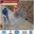 Manual de electro hexagonal galvanizado gaviones de malla de alambre/caja de piedra/geomalla de gaviones