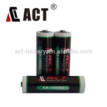 Hot sale long life 3.6V AA size ER14505 Li-soci2 AA battery